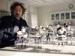 Tim Burton Frankenweenie classroom