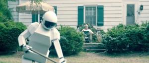 robot & frank gardening