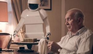 robot & frank tray
