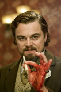 django unchained dicaprio bloody