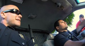 end of watch car shot