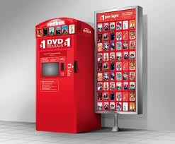 redbox box and posters