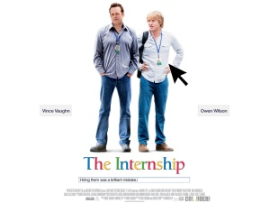 The Internship cover