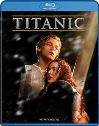 titanic blu ray cover