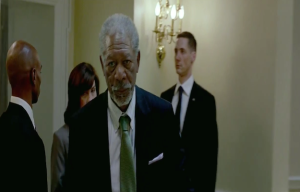Olympus has fallen Morgan Freeman