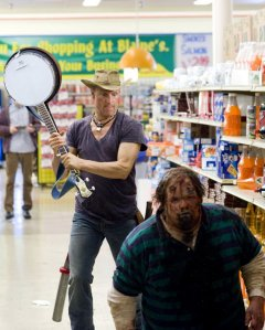Zombieland Harrelson Banjo