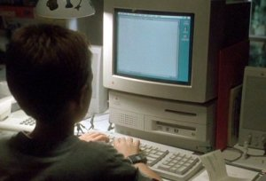 Blank Check Kid Typing