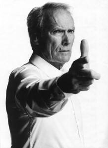 Clint Eastwood Aiming