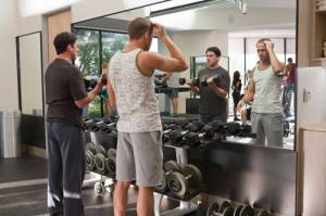 Crazy, Stupid, Love. Gym