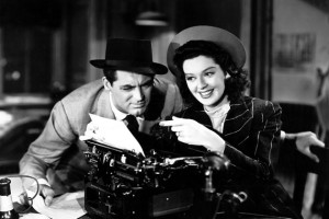 His Girl Friday Typing