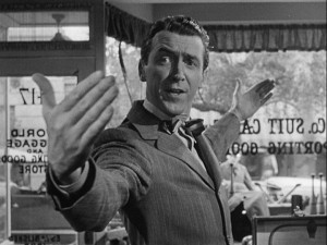 It's a Wonderful Life James Stewart arms wide