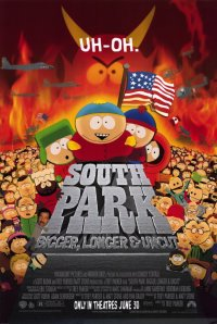 South Park Bigger, Longer  Uncut Poster