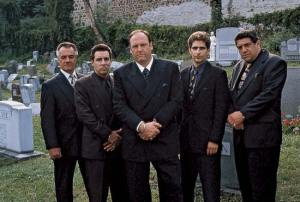 The Sopranos Mob Family Cemetary