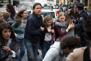 World War Z family running