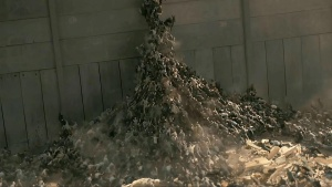 World War Z Zombie Pile