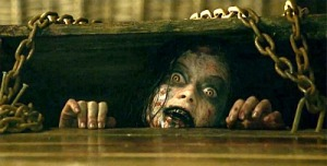 Evil Dead Girl in Cellar