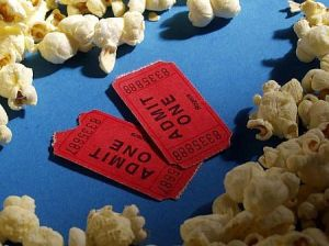 Movie Tickets Popcorn