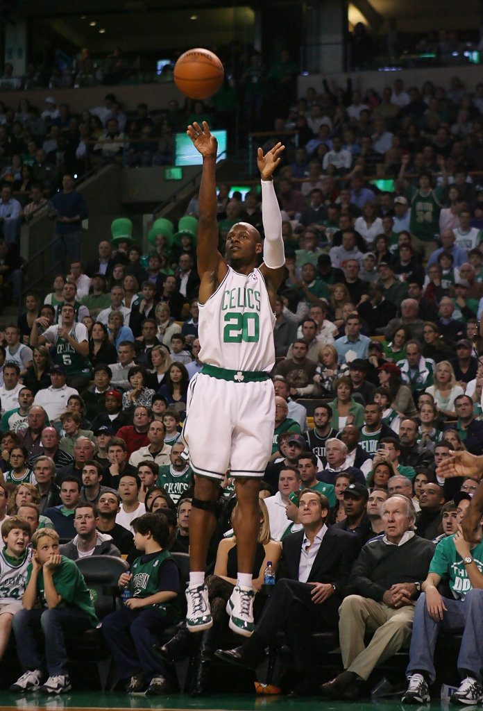 ray allen shooting form