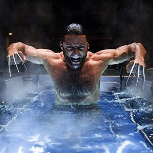 X-Men Origins Wolverine Jackman Water