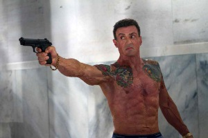 Bullet to the Head Stallone Gun