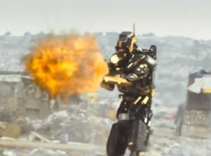 Elysium Robot Fire