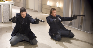 The Boondock Saints Reedus Flanery Guns