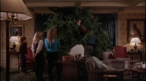 Christmas Vacation Family Tree Living Room