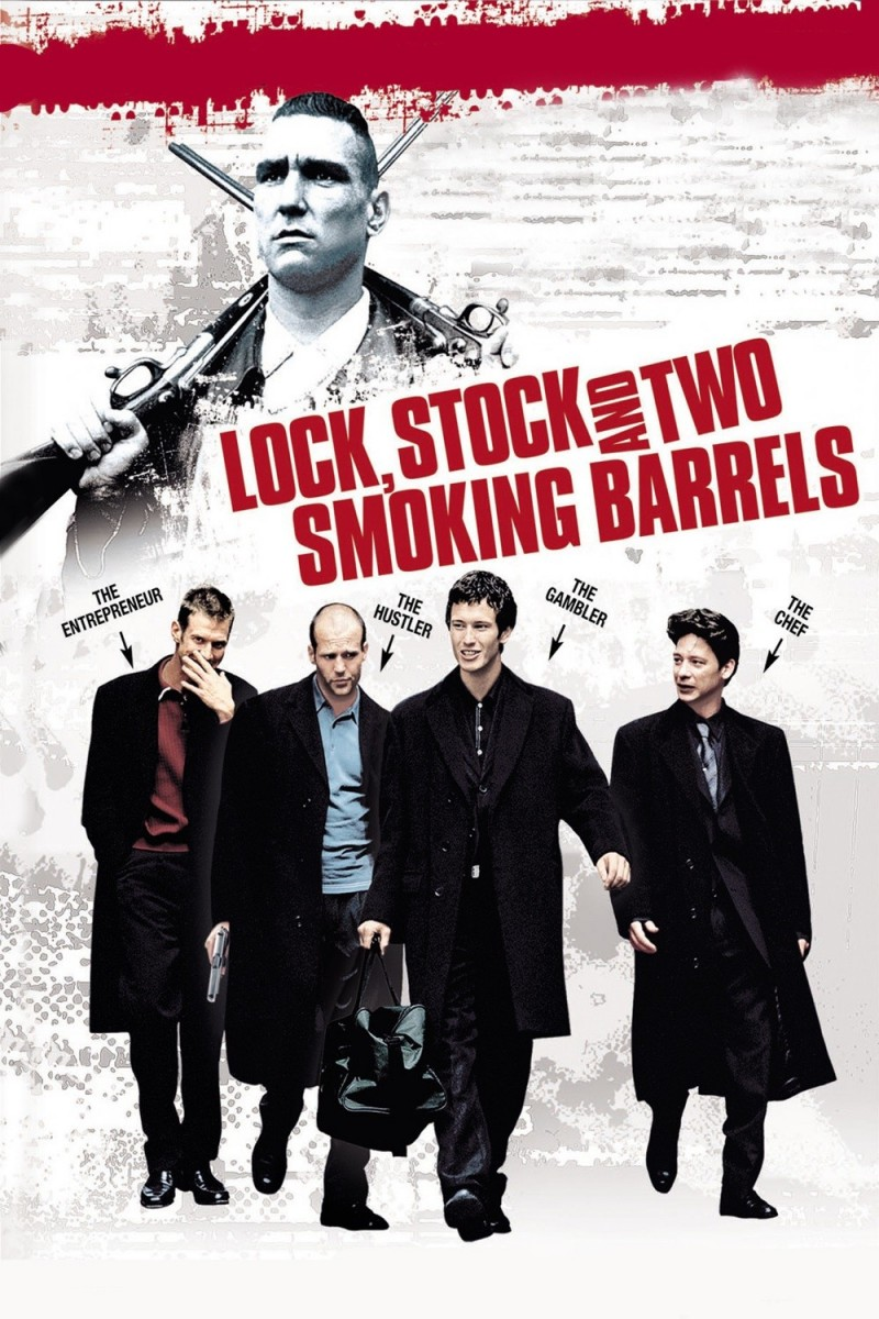 lock stock and two smoking barrels Lock, stock and two smoking barrels 38 likes four london working class stiffs pool their money to put one in a high stakes card game, but things go.