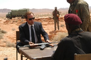 NICOLAS CAGE as Yuri Orlov in LORD OF WAR directed by ANDREW NICCOL