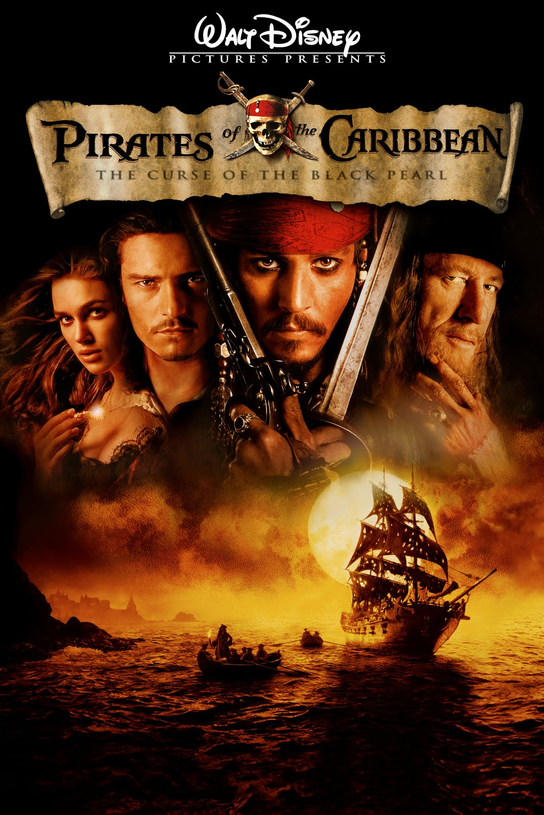 Pirates of the Caribbean: The Curse of the Black Pearl (2003) Trailer Film