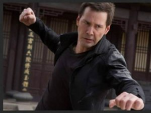 The Man of Tai Chi Reeves Fighting
